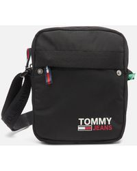 Tommy Hilfiger Campus Reporter Bag - Black