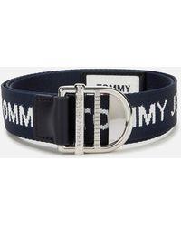 Tommy Hilfiger Essential Webbing Belt 3.5 - Blue