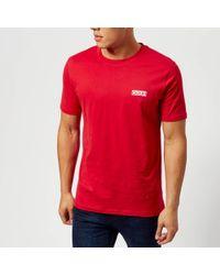 HUGO - Durned Crew Neck T-shirt - Lyst