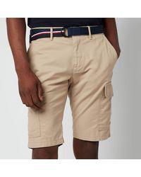 Tommy Hilfiger John Cargo Shorts - Natural