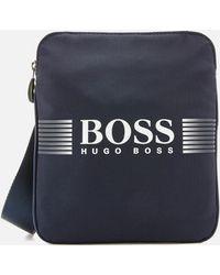 BOSS Green Pixel Small Bag
