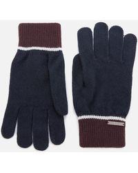 Ted Baker Wooglo Knit Gloves - Blue