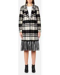 Maison Scotch - Women's Bonded Wool Coat - Lyst