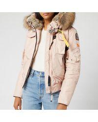 Parajumpers Gobi Masterpiece Coat - Pink