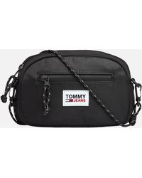 Tommy Hilfiger Urban Tech 2 Way Bumbag - Black