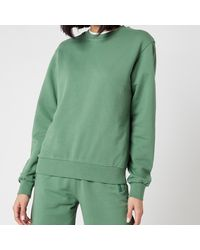 Les Girls, Les Boys Loopback Crew Neck Sweatshirt - Green