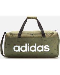adidas Linear Duffle Bag - Green