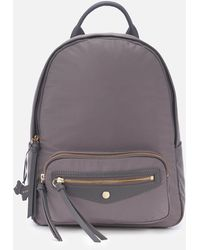 Radley Merchant Hall Medium Backpack Zip Top Bag - Grey