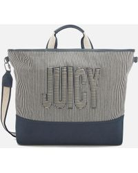 Juicy Couture | Parker Canvas Tote Bag | Lyst