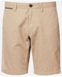Tommy Hilfiger Brooklyn Light Twill Shorts - Natural