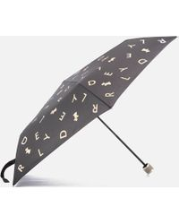 Radley All That Glitters Mini Telescopic Umbrella - Multicolour