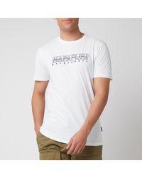 Napapijri Sebel Short Sleeve T-shirt - White