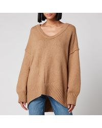 Free People Brookside Tunic Knit - Brown