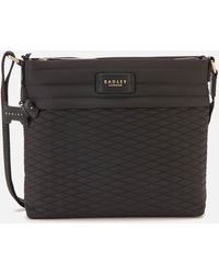 Radley Penton Mews Medium Cross Body Bag Ziptop - Black
