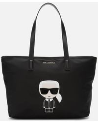 Karl Lagerfeld - K/ikonik Nylon Tote Bag - Lyst