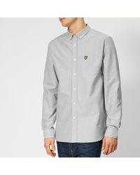 Lyle & Scott - Fine Stripe Shirt - Lyst