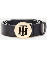 Tommy Hilfiger Round Logo Belt - Blue