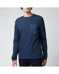 Ted Baker Zaplan Long Sleeve Top - Blue