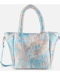 Hvisk Valley Dreamy Medium Tote Bag - Blue
