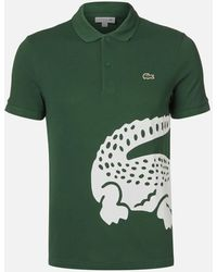 Lacoste Large Croc Polo Shirt - Green