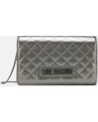 Love Moschino Quilted Small Cross Body - Multicolour
