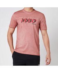 HUGO X Liam Payne Dappel T-shirt - Pink