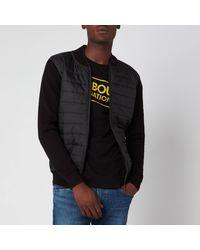 Barbour Baffle Sweater - Black