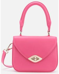 Furla Eye Mini Top Handle Bag - Pink