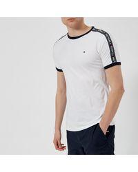 Tommy Hilfiger Tape T-shirt - White