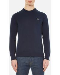 Lacoste - Crew Neck Jumper - Lyst