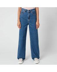 Levi's High Loose Jeans - Blue