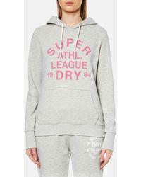 Superdry - Athletic League Loopback Hoody - Lyst