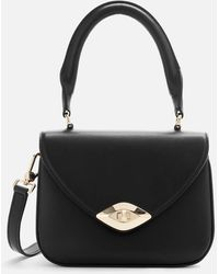 Furla Eye Mini Top Handle Bag - Black