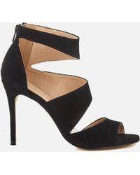 46c3ca0263f ALDO Grayvia Platform Triple Strap Platform Heeled Sandals in Black ...