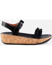 Fitflop - Ruffle Back Strap Sandals - Lyst