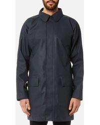 HUNTER Original Rubber Raincoat - Blue