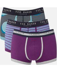 Ted Baker - Kelino 3 Pack Boxer Shorts - Lyst