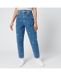 Tommy Hilfiger Mom Jeans - Blue