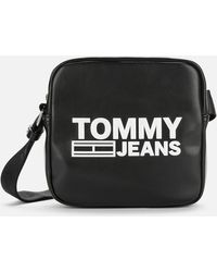 Tommy Hilfiger Texture Cross Body Bag - Black