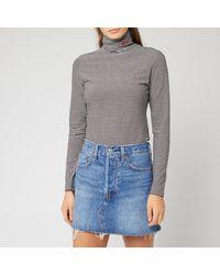 Levi's Knit Turtleneck Top - Blue