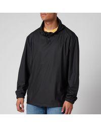 Rains Mover Ultralight Pullover Jacket - Black