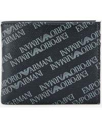 Emporio Armani Emporio Logo Wallet Black
