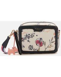 Radley Sketchy Floral Small Ziptop Cross Body Bag - Multicolour