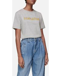 Whistles Staycation Logo T-shirt - Grey