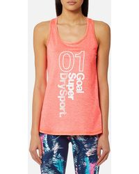 Superdry - Fitspo Tank Top - Lyst