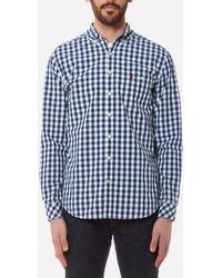 Joules - The Eastbury Paisley Long Sleeve Shirt - Lyst