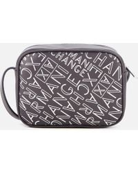 Armani Exchange - Small Logo Cross Body Bag - Lyst