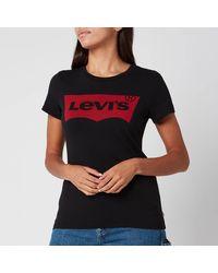 Levi's Plus Size Graphic Logo T-shirt - Black