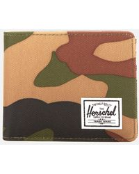 Herschel Supply Co. Roy Bifold Wallet With Coin Pouch - Green