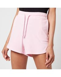 Tommy Hilfiger Tjw Pastel Velour Shorts - Pink